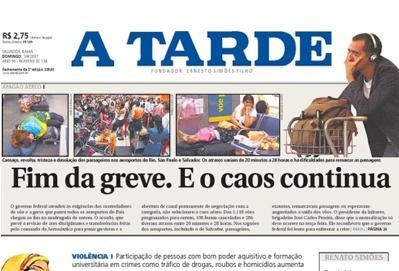 Famlia Simes Quer Desfazer A Venda Do Jornal Tarde Da Bahia