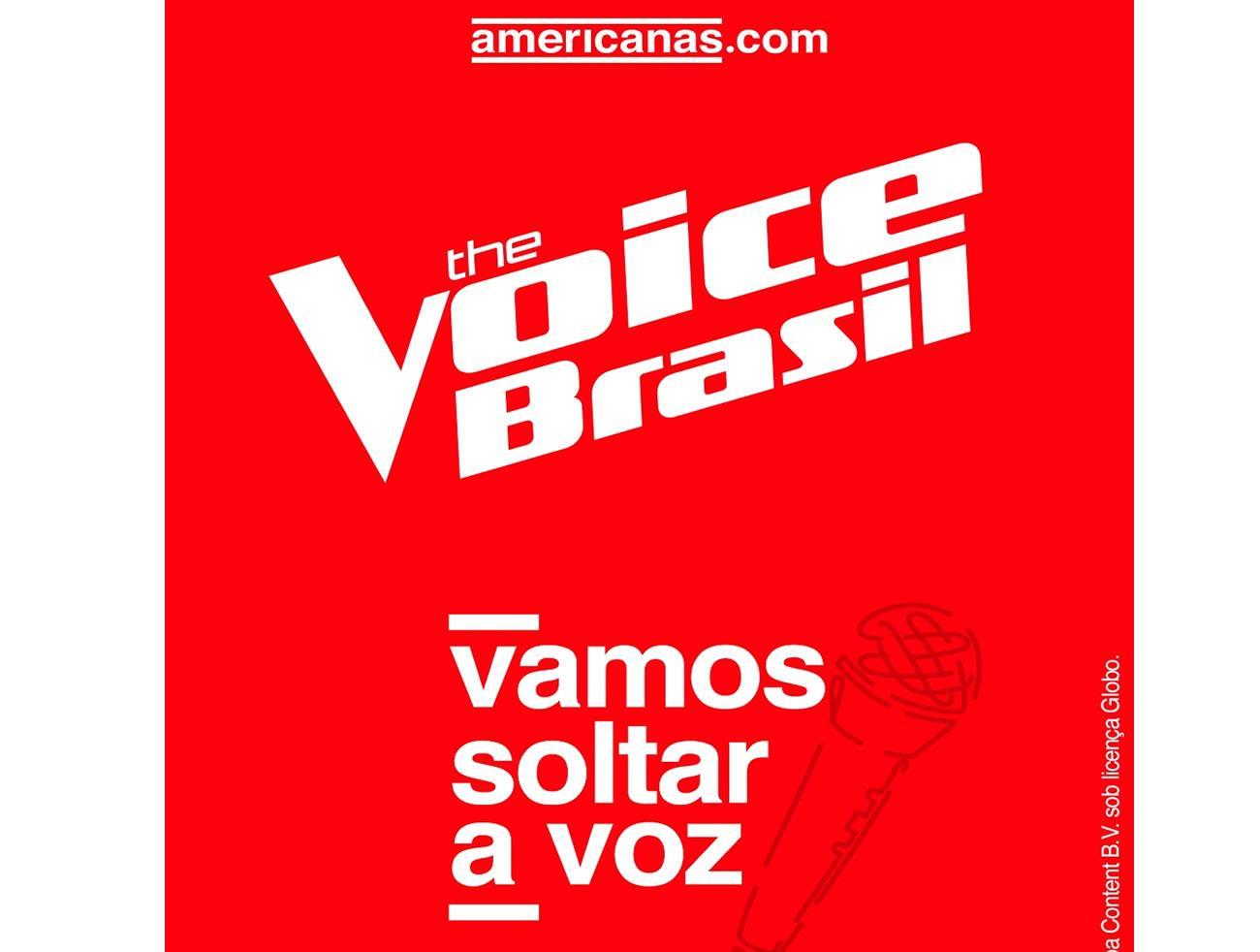 Americanas.com presenteia finalistas do The Voice Brasil