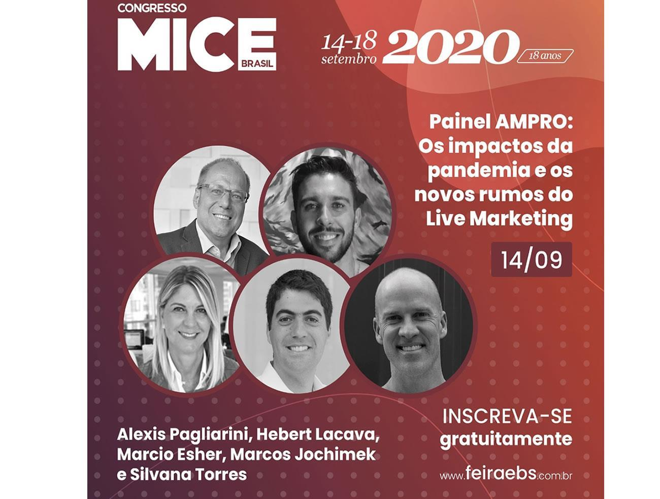 AMPRO trata sobre impactos e novos rumos do Live Marketing durante o Congresso MICE Brasil